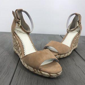 New 1901 Nadine wedged espadrille heeled sandal 9